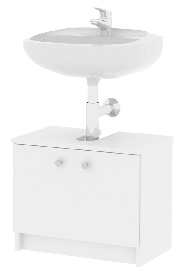 MB Domus SIMONA, skříňka pod umyvadlo SI02, bílá