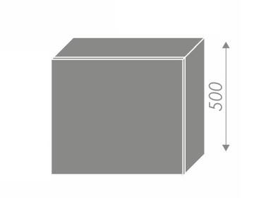 Extom QUANTUM, skříňka horní na digestoř W8 60, vanilla mat/grey