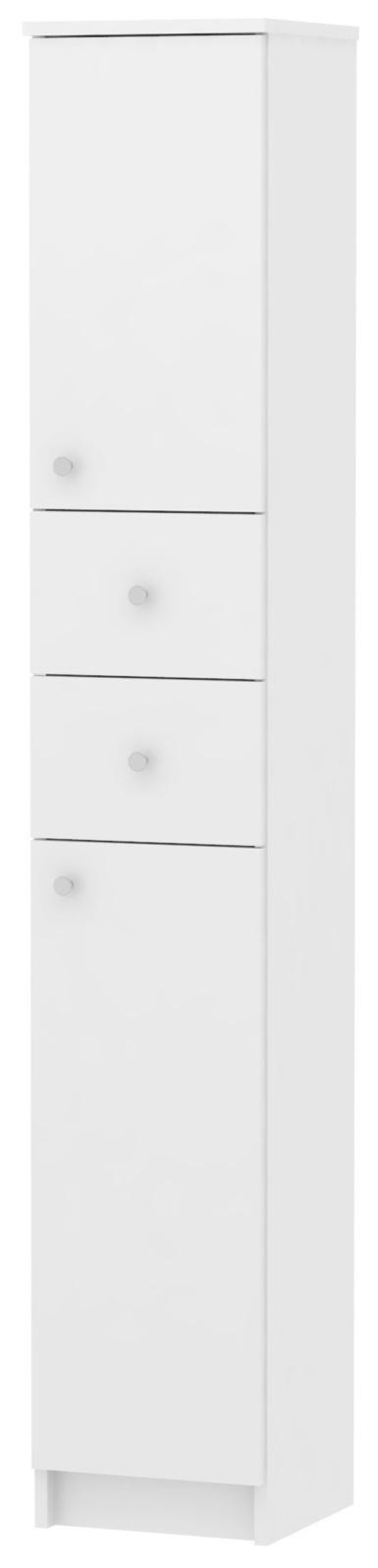 MB Domus SIMMONA, skříňka vysoká SI13, bílá