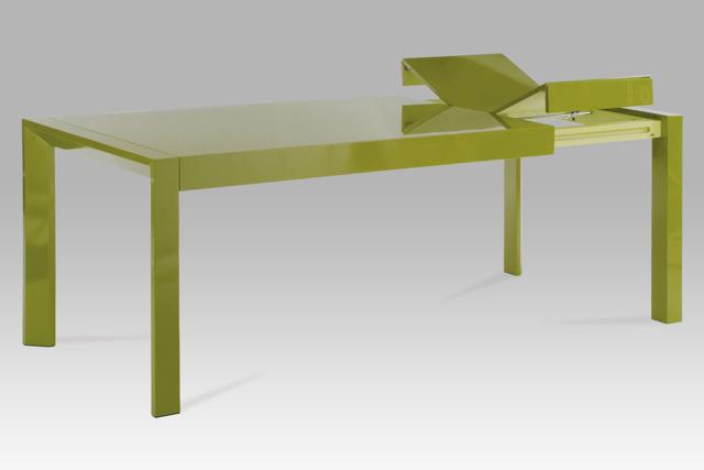 Jídelní stůl rozkládací WD-5829 GRN, zelený
