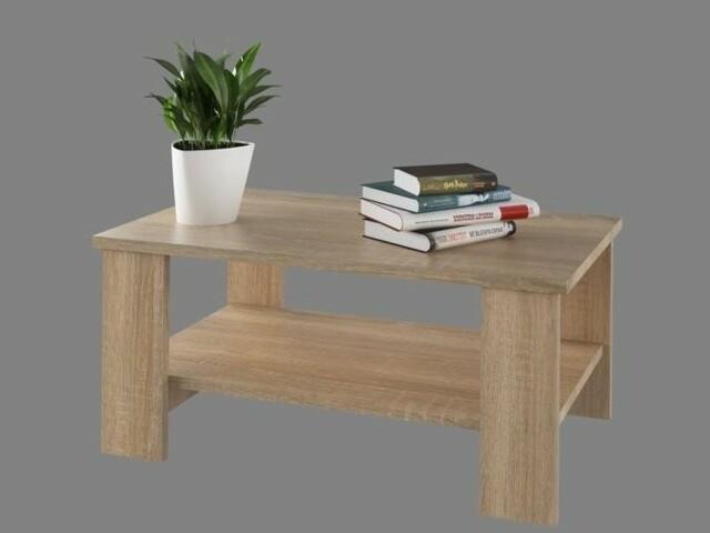 Smartshop BEERNARDO konferenční stolek, dub sonoma