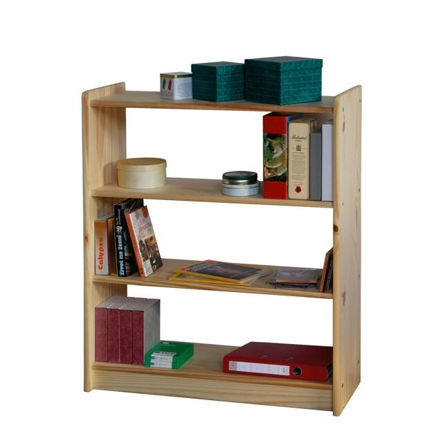 Knihovna K8010-I, masiv borovice