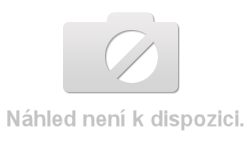 Moderní závěsná skříňka s vitrínou v provedení bílý lesk typ MO08 KN073