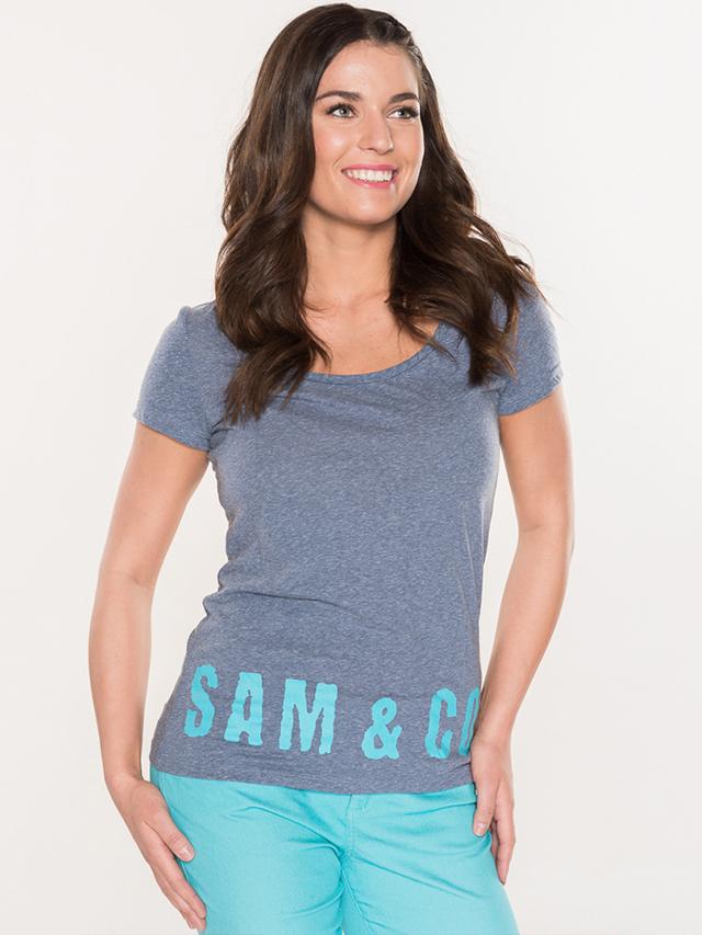 Tričko SAM 73 WT756 Modrá