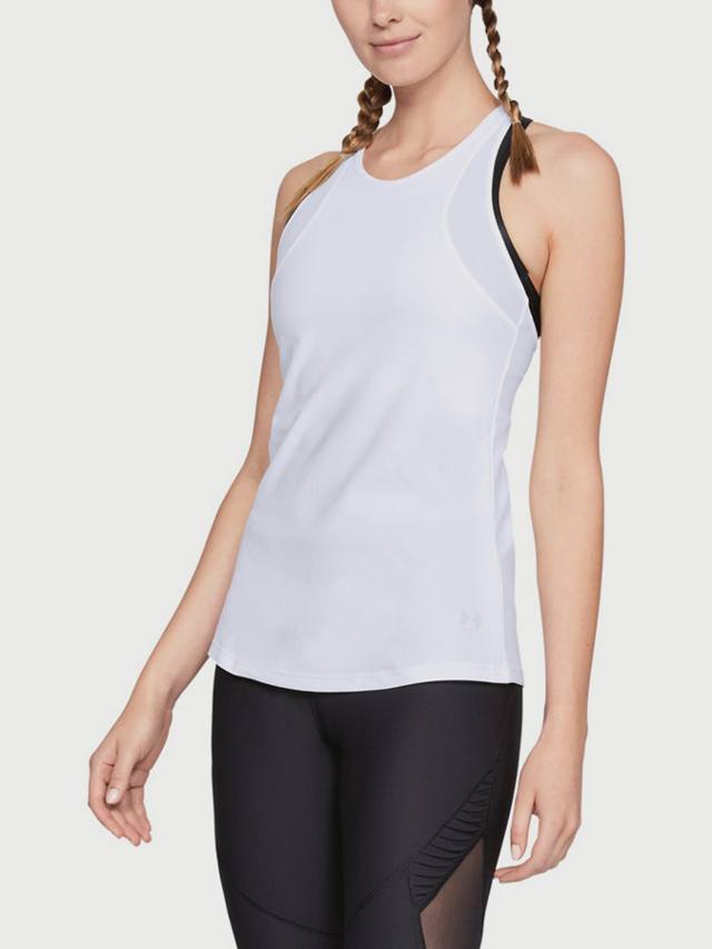 Tílko Under Armour Vanish Tank Bílá