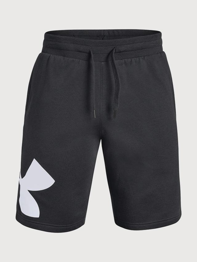 Kraťasy Under Armour Rival Fleece Logo Sweatshort Černá