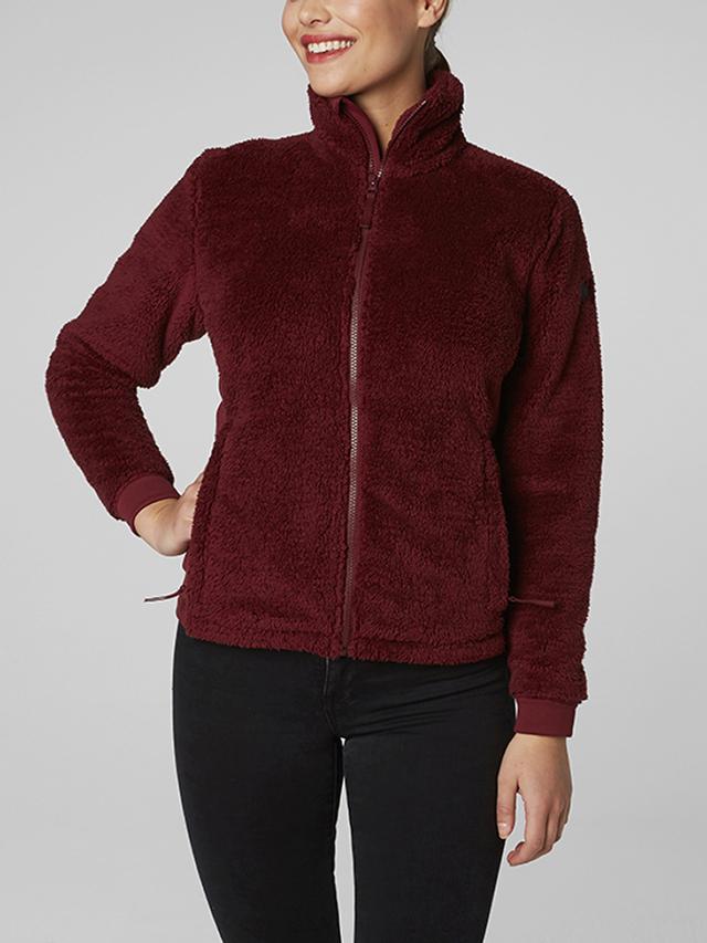 Bunda Helly Hansen W Precious Fleece Jacket Červená