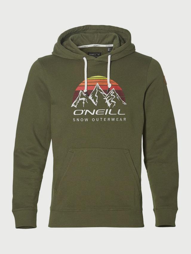 Mikina O´Neill LM Mountain Logo Hoodie Zelená