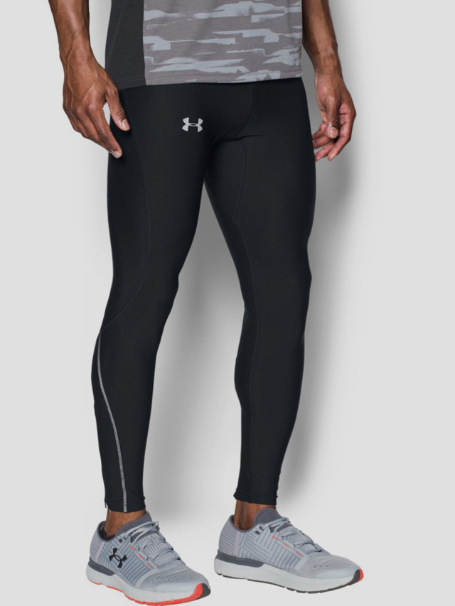 Kompresní legíny Under Armour Run True HeatGear Tight Černá