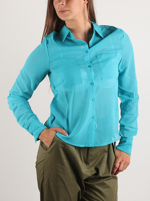 Košile Terranova Camicia Modrá