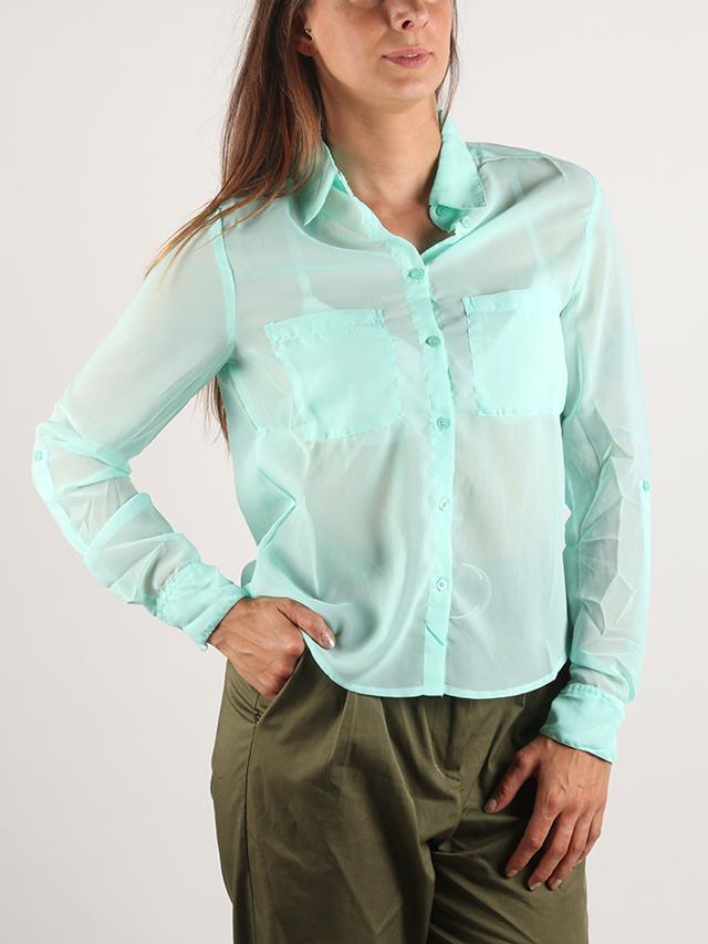 Košile Terranova Camicia Zelená
