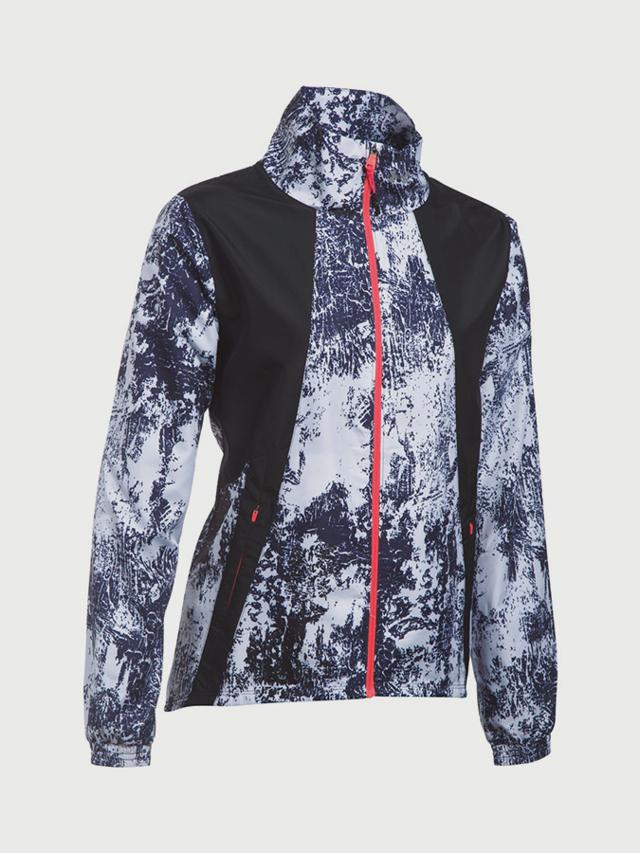 Bunda Under Armour Intl Printed Run Jacket Barevná