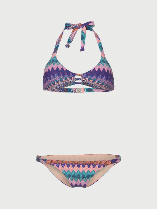 Bikiny O´Neill Pw Fancy Triangle Bikini Modrá