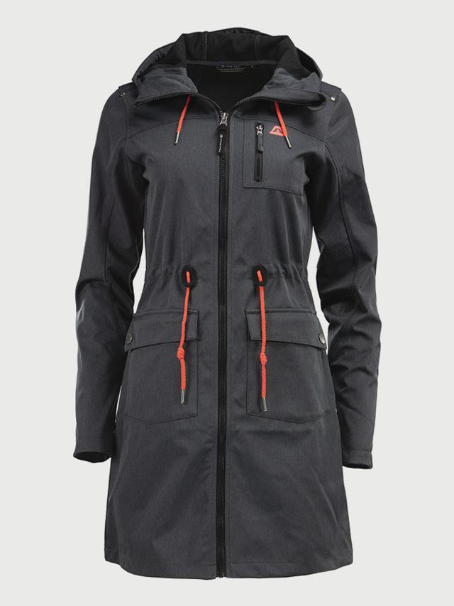 Kabát Alpine Pro Gala Černá