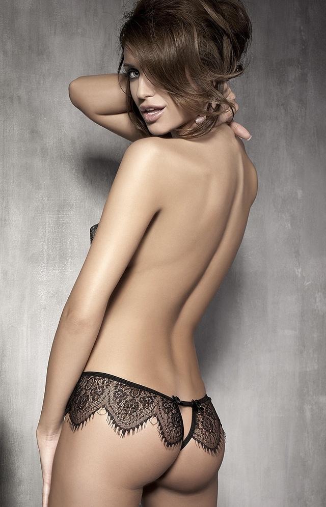 Kalhotky Anais Abbigail panty - L - černá
