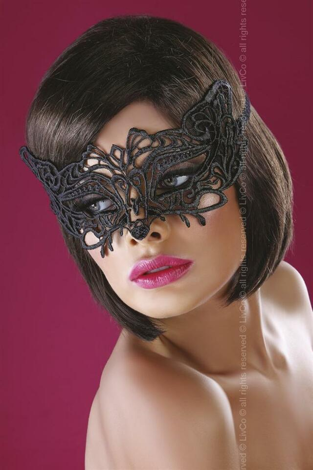Maska Model 13 - LivCo Corsetti - uni - černá