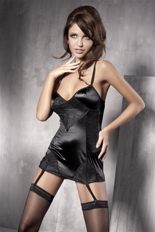 Košilka Anais Fleur - S - černá