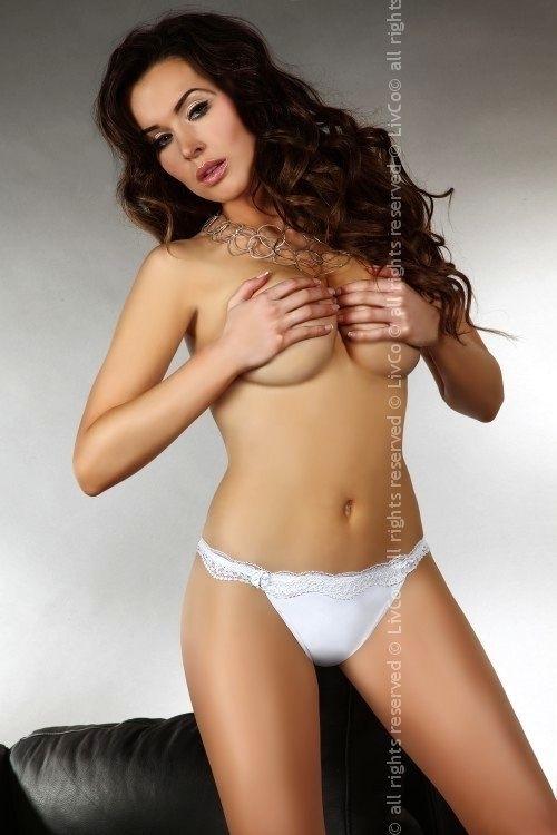 Kalhotky Shizu - Livia Corsetti - XL - bílá