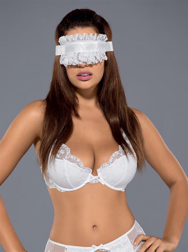 Maska Etheria mask - Obsessive - - bílá