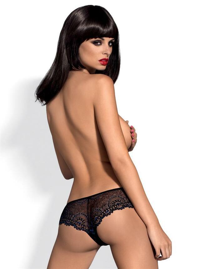 Kalhotky Oriens shorties - Obsessive - S/M - černá