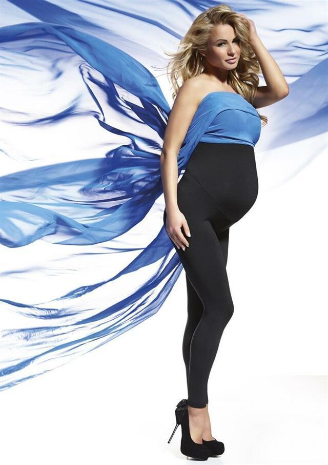 Legíny Anabel - Bas Bleu - L - černá
