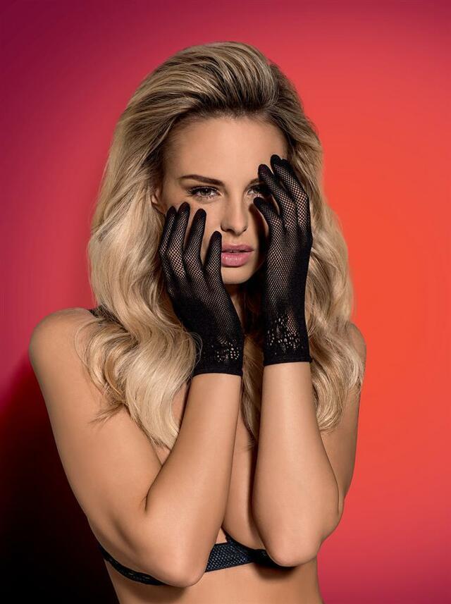 Rukavičky Lustella gloves - Obsessive - uni - černá