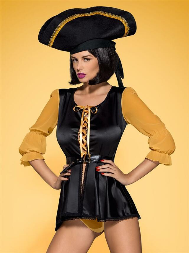 Sexy kostým Pirate set - Obsessive - S/M - original