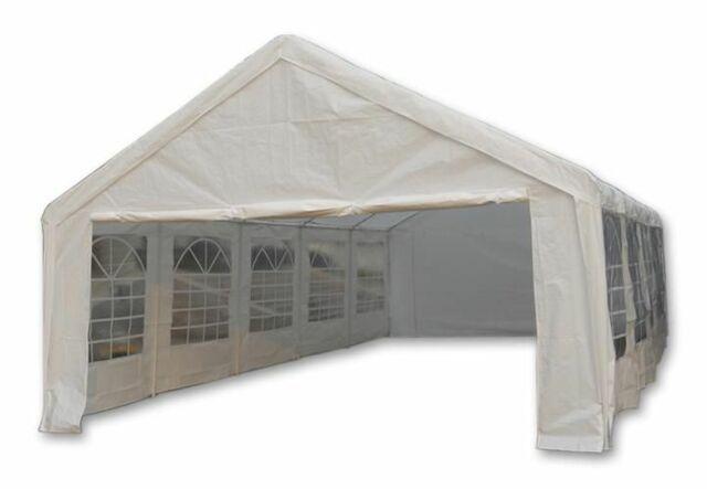 Zahradní stan - bílý, 5 x 10 m