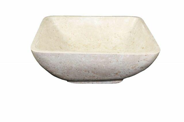 Kamenné umyvadlo Invida Cream