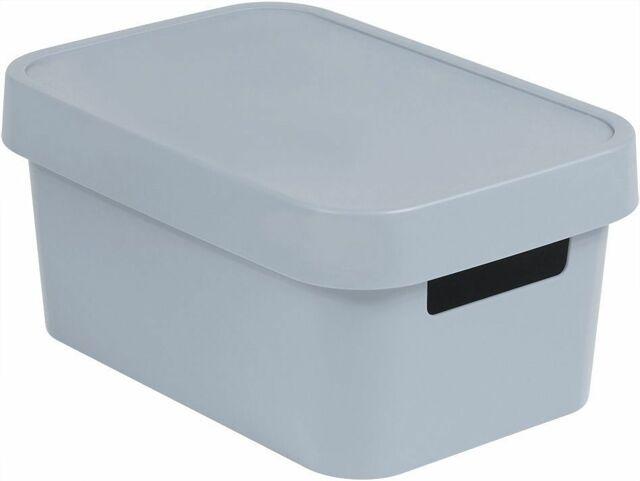 Úložný box INFINITY 4,5L - šedý