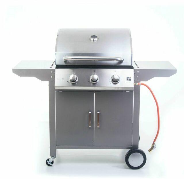 Plynový gril G21 Oklahoma, BBQ Premium Line 3 hořáky + zdarma red