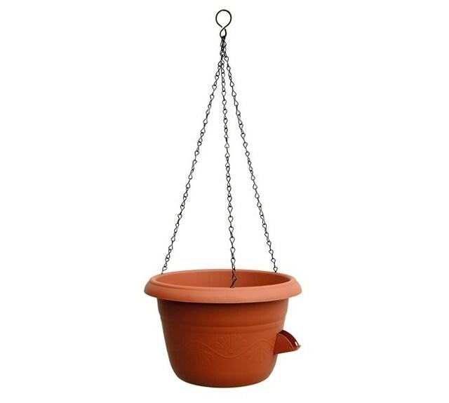 Plastia Samozavlažovací závěsný květináč 30 cm