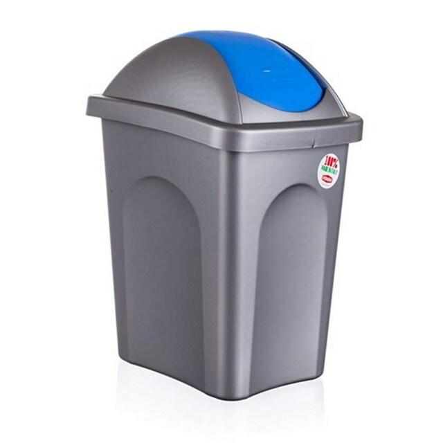 Odpadkový koš VETRO-PLUS Multipat 30 l modrá