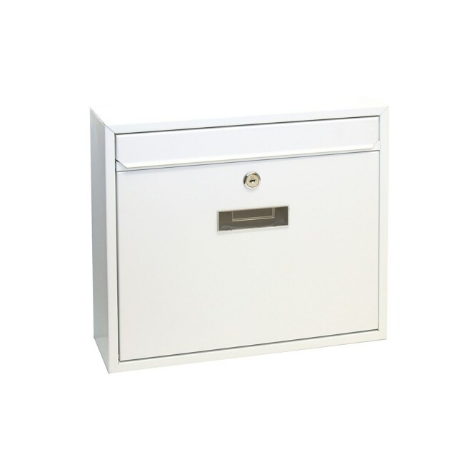 Richter Poštovní ocelová schránka Tarent, bílá