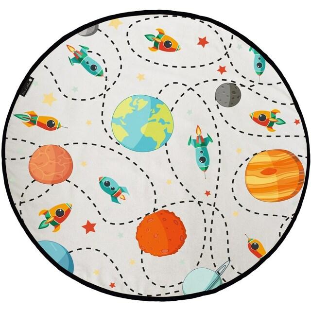 Butter Kings Dětská hrací podložka The universe, 130 cm