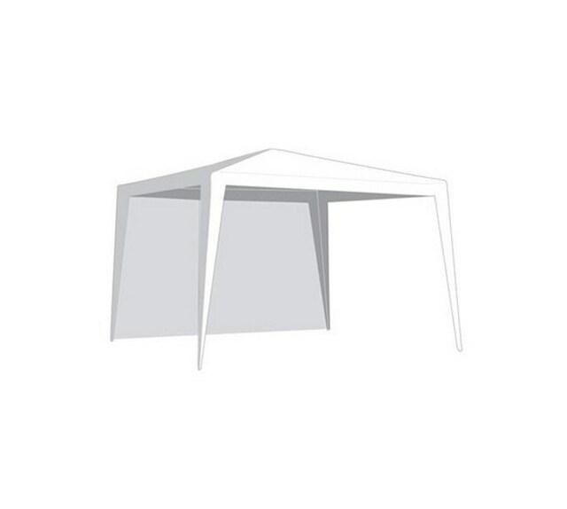 VETRO-PLUS bočnice zahradního stanu bez okna bílá