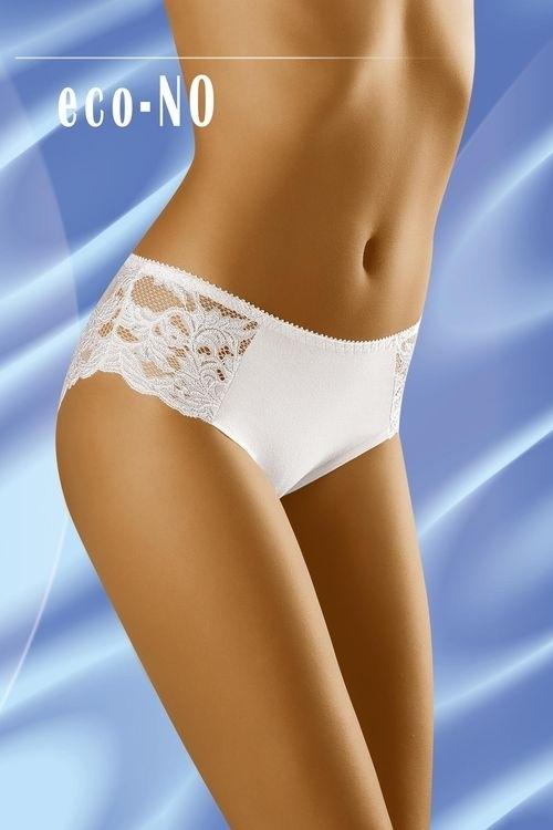 Dámské kalhotky eco-No white - M - bílá