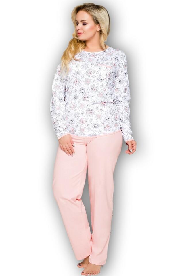 Dámské pyžamo Kate 2132 pink - XXL - růžová