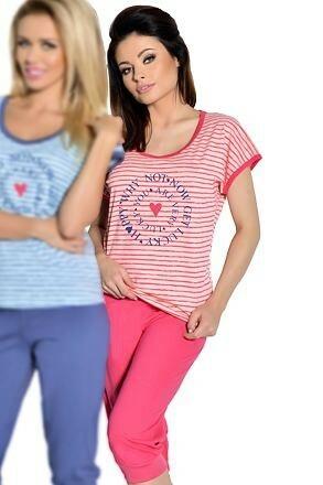 Dámské pyžamo Simona růžové - XL