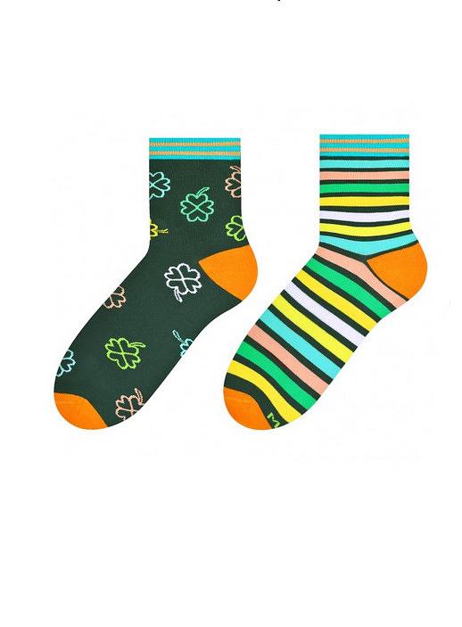 Dámské nepárové ponožky More 078 - 39-42 - světle zelená