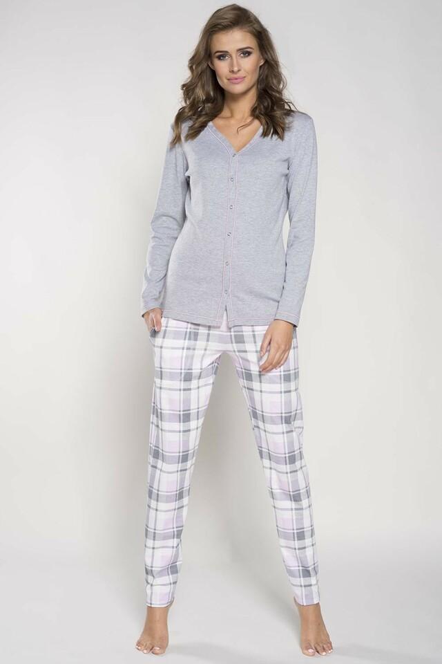 Dámské pyžamo Italian Fashion Hana - XL - žíhaná
