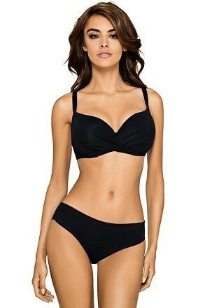 Dvoudílné plavky Daphne černé - S