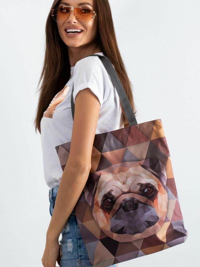 Látková taška s potiskem - jedna velikost