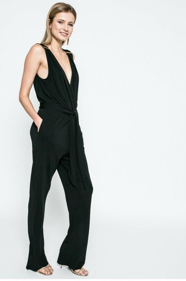 Plážový overal KW0KW00161-001 černá - Calvin Klein