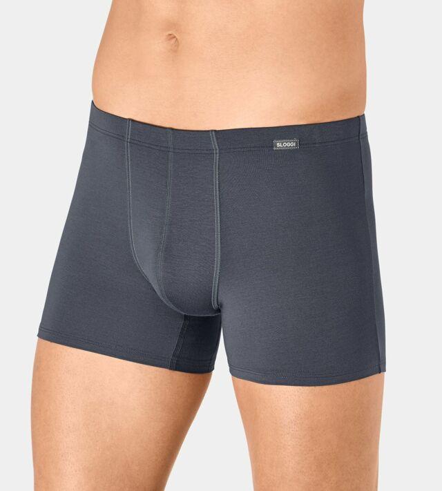 Boxerky Sloggi men Basic Soft Short - 0005 - delfíní šedá (00PN)