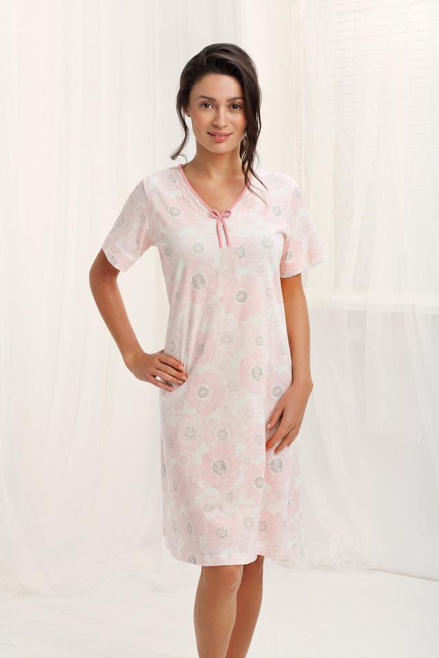 Dámská noční košile 029 - LUNA - XL - LOSOSOVÁ