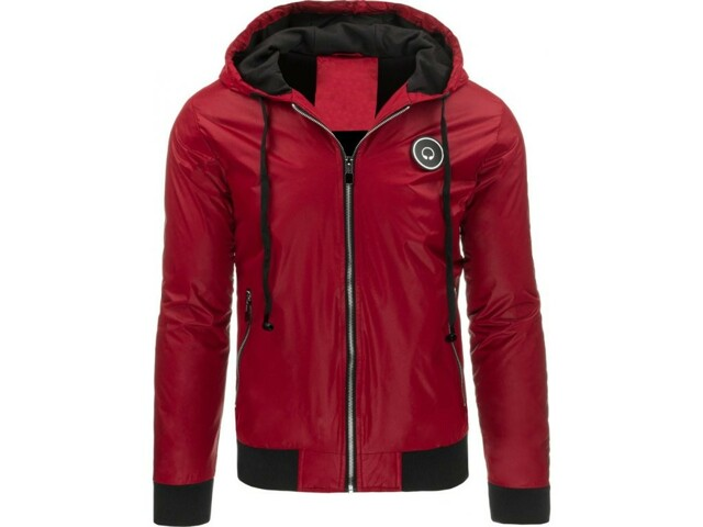 Pánská bunda Jaro-Podzim RXM-4329 - Nature - M - červená