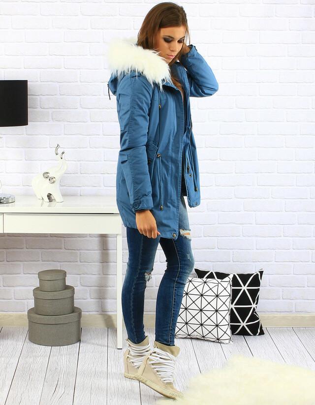 Dámská bunda parka D-256 (ty0142) - Z-Design - M - modrá