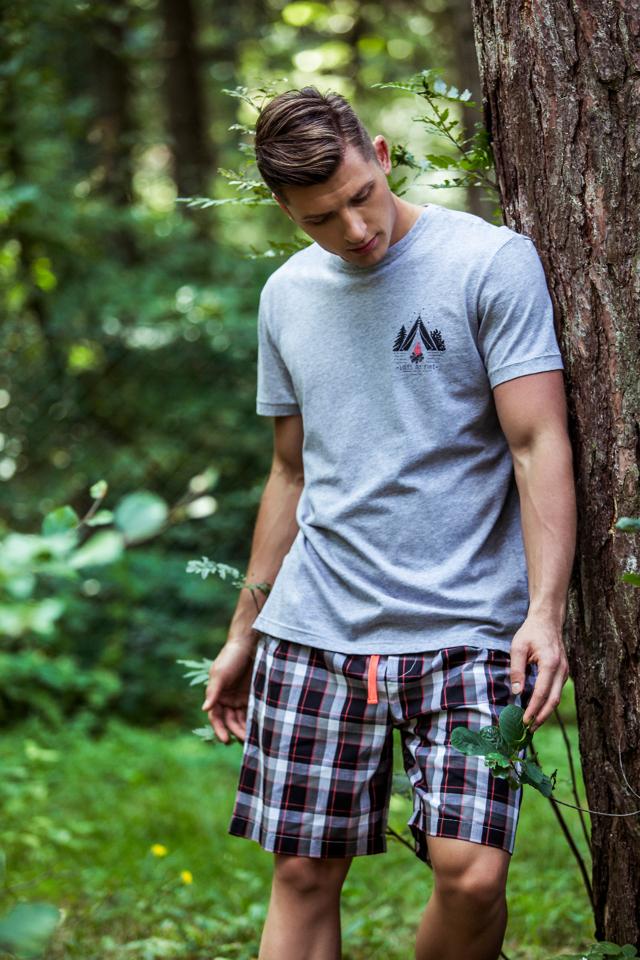 Pánské pyžamo Key MNS 047 A8