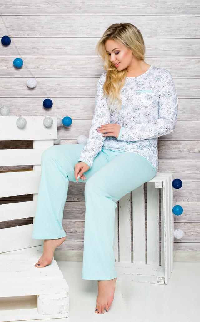 Dámské pyžamo Taro Kate 2132 dl/r 2XL-4XL